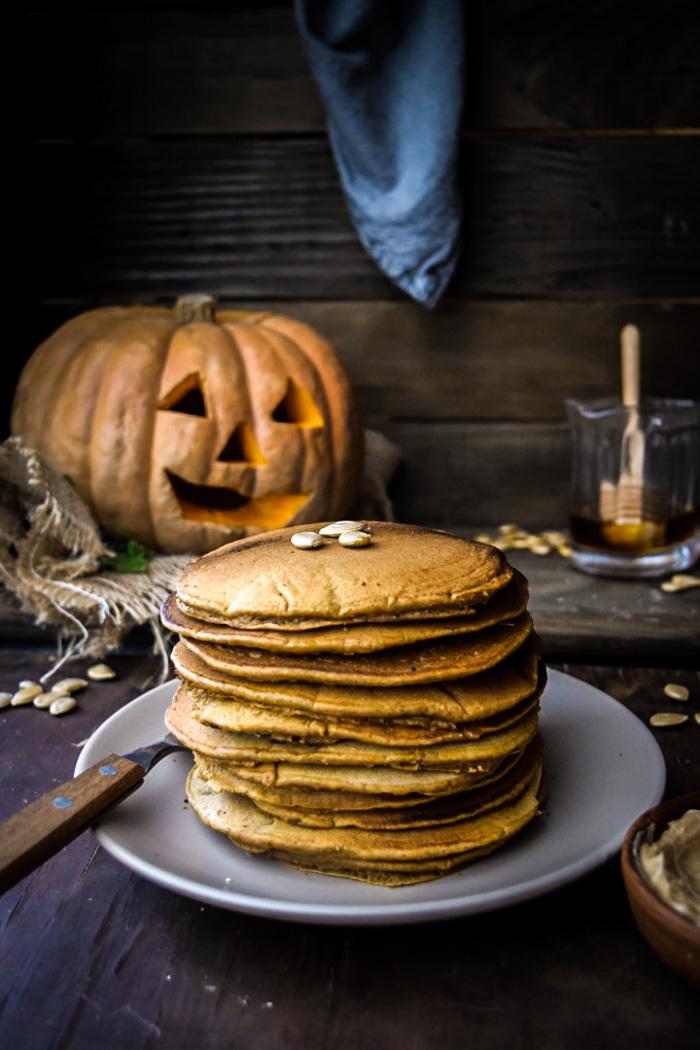 easy best pumpkin pancakes