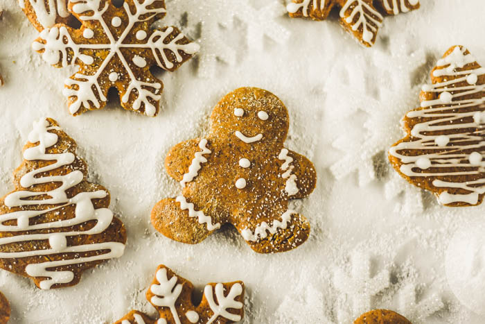 chewy vegan ginger cookies