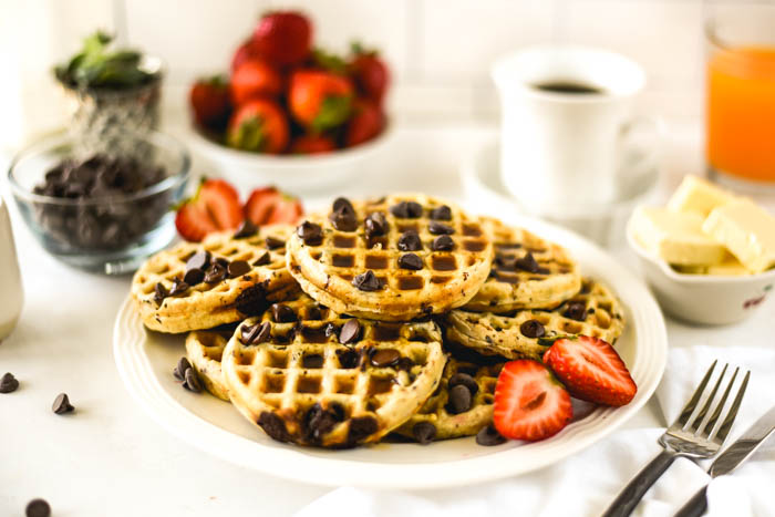 gluten free vegan waffles