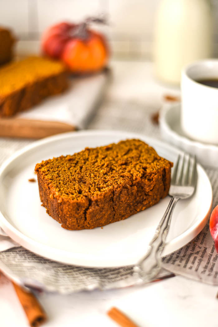easy vegan pumpkin bread