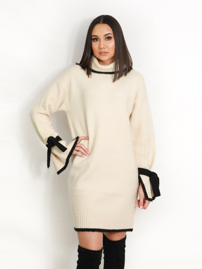 Yvonne Sweater Dress 1