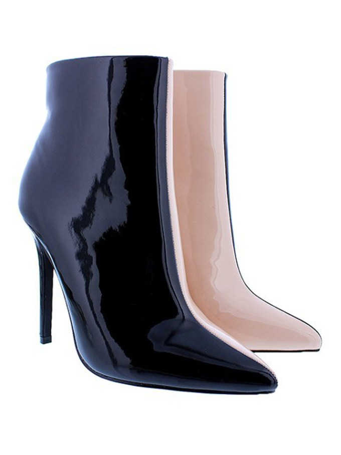 Two-Tone Colorblock Boot 1