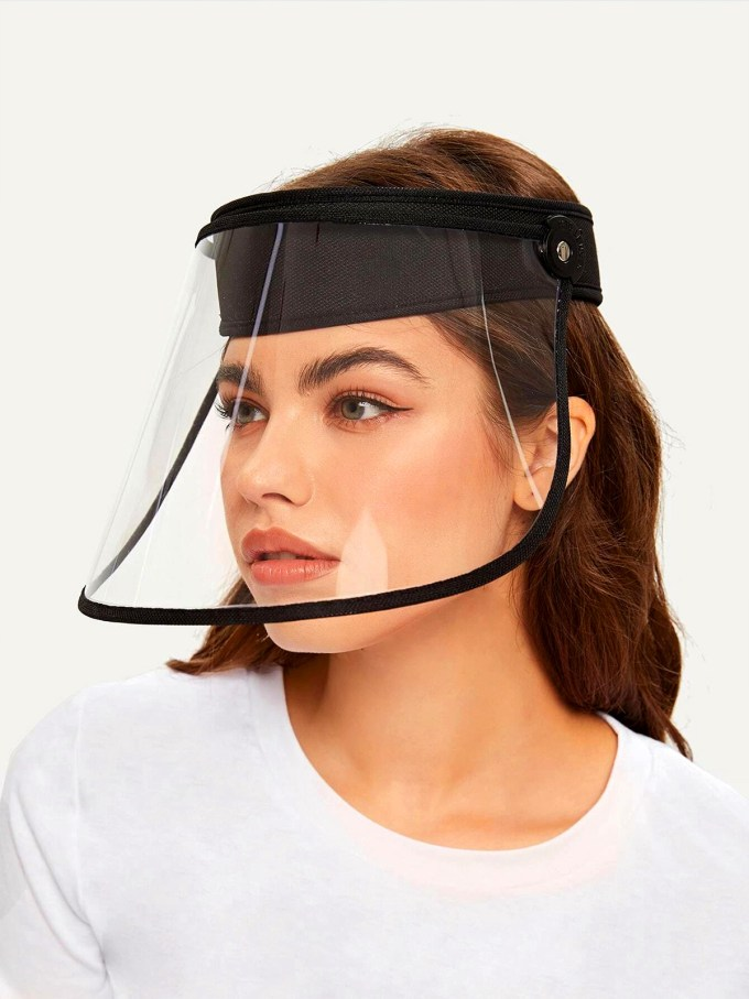 Talk to Me Face Shield-Pink 2