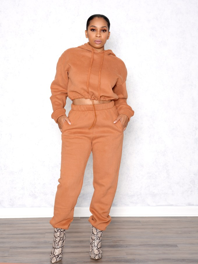 Drizzy Two Piece Sweat Suit 1