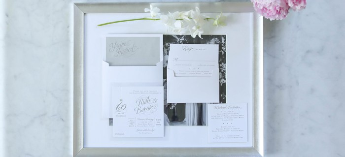 Silver-lining Party Invitation