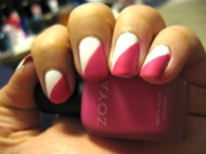 tape_manicure_diagonal_french_zoya_lolly