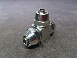 Co2 Stainless Steel 3 way Connecter