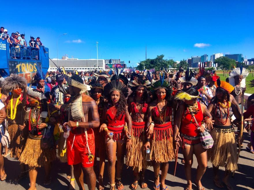 Free Land Camp indigenous Women