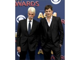 Sam Elliott and Ashton Kutcher