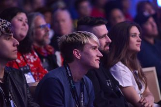 ANAHEIM, CALIFORNIA - JANUARY 17: Guests attend The 2020 NAMM Show on January 17, 2020 in Anaheim, California. (Photo by Jerod Harris/Getty Images for NAMM)