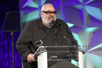 ANAHEIM, CALIFORNIA - JANUARY 17: Charlie Hernandez speaks onstage at The 2020 NAMM Show on January 17, 2020 in Anaheim, California. (Photo by Jesse Grant/Getty Images for NAMM)