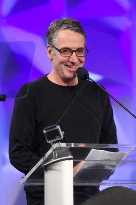 ANAHEIM, CALIFORNIA - JANUARY 17: Stone Gossard speaks onstage at The 2020 NAMM Show on January 17, 2020 in Anaheim, California. (Photo by Jesse Grant/Getty Images for NAMM)