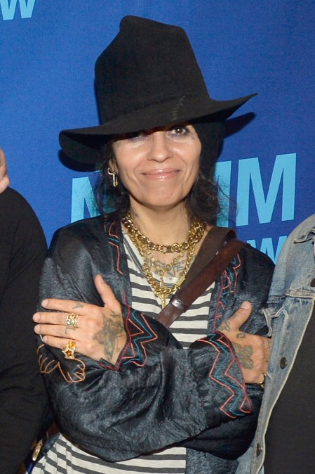ANAHEIM, CALIFORNIA - JANUARY 18: Linda Perry attends The 2020 NAMM Show on January 18, 2020 in Anaheim, California. (Photo by Jerod Harris/Getty Images for NAMM)