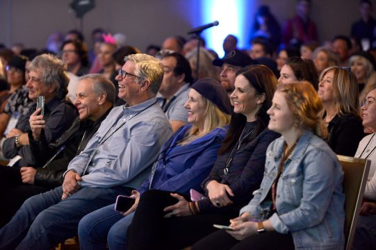 ANAHEIM, CALIFORNIA - JANUARY 18: Guests attend The 2020 NAMM Show on January 18, 2020 in Anaheim, California. (Photo by Jerod Harris/Getty Images for NAMM)