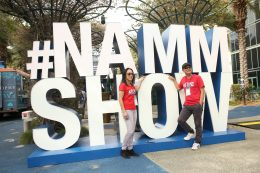 ANAHEIM, CALIFORNIA - JANUARY 19: Guests attend The 2020 NAMM Show on January 19, 2020 in Anaheim, California. (Photo by Jesse Grant/Getty Images for NAMM)