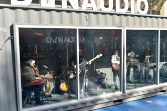 ANAHEIM, CALIFORNIA - JANUARY 19: A band performs at The 2020 NAMM Show on January 19, 2020 in Anaheim, California. (Photo by Jerod Harris/Getty Images for NAMM)