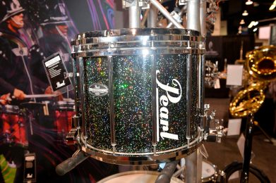 ANAHEIM, CALIFORNIA - JANUARY 19: An instrument on display at The 2020 NAMM Show on January 19, 2020 in Anaheim, California. (Photo by Jerod Harris/Getty Images for NAMM)