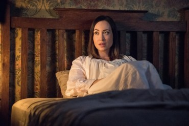 """Supernatural --""""All Along the Watchtower"""" -- SN1223c_0016.jpg -- Pictured: Courtney Ford as Kelly Kline -- Photo: Dean Buscher/The CW -- © 2017 The CW Network, LLC. All Rights Reserved"""