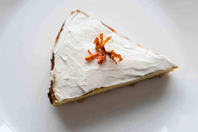 tarta de calabaza con mascarpone