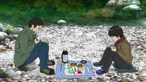 Makoto and his dad