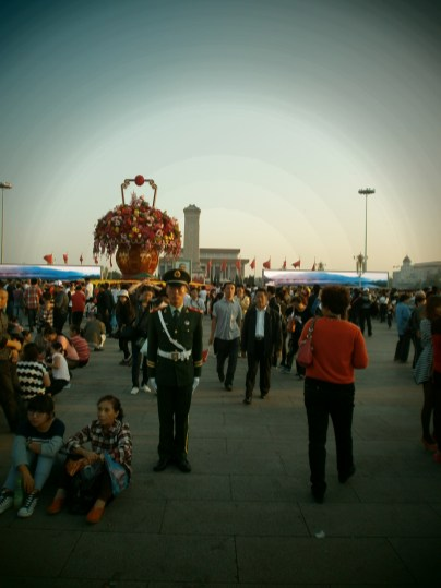 Beijing - Plaza Tiananmen - Día Nacional de China