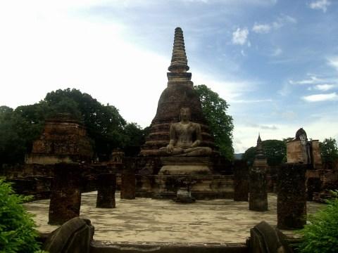 PIC01682 - Sukhothai, la antigua capital de Tailandia