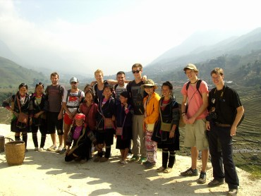 Terrazas de arroz de Sapa - Compañeros de trekking