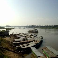Laos - Barcos Mekong