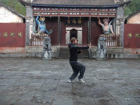 Aprendiendo Kong Fu en Yunnan