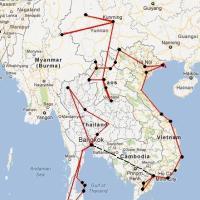 Tres posibles rutas para visitar el Sudeste Asiático