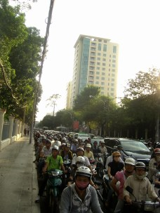 Ho Chi Minh Traffic - Top South Vietnam: The best places to visit