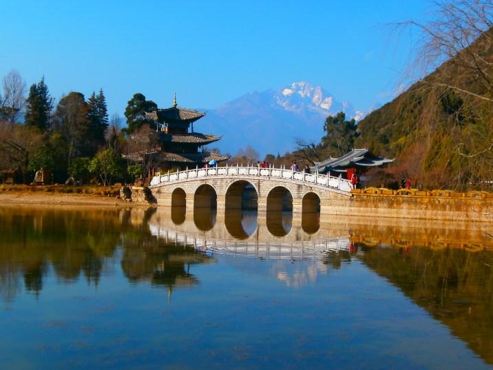 Viaje a Yunnan - Casco antiguo de Lijiang - Black Dragon Pool