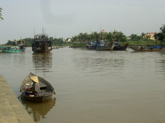 Hoi An River - 1 day in Hoi An: a great disappointment