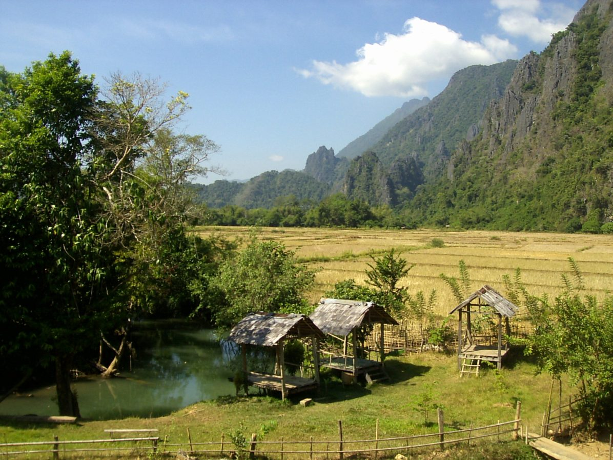 Vang Vieng Natural Swimming Pool scaled - What to do in Vang Vieng: the best 3 things
