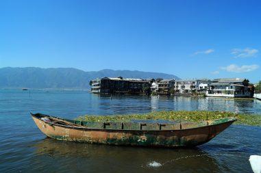 Yunnan - Antigua ciudad de Dali - Lago Erhai