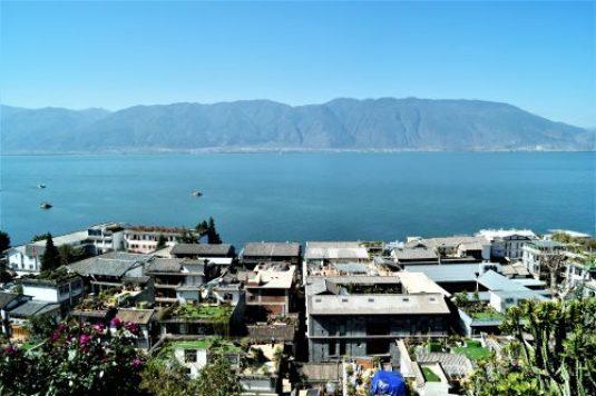 Yunnan - Dali - Lago Erhai y Montaña de Cangshan