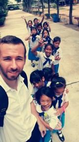 Enseñando inglés en Tailandia - Prathom 3