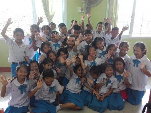 Profesor de ingés el Tailandia - Último día de clase