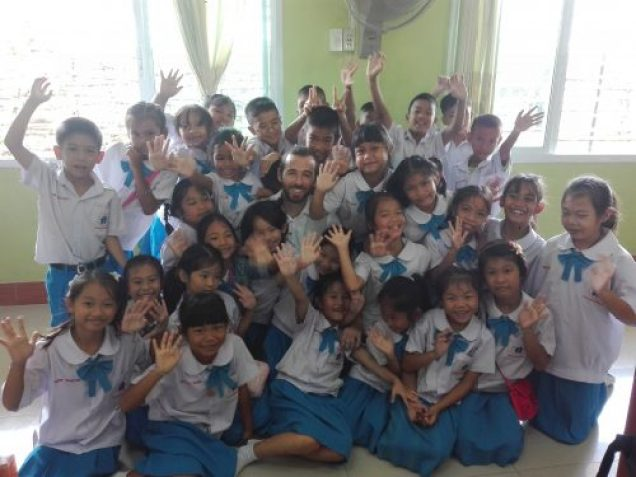 Trabajando en Tailandia Último día de clase 500x375 - English teacher in Thailand: my experience