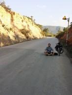 Viaje en bicicleta - Descansando