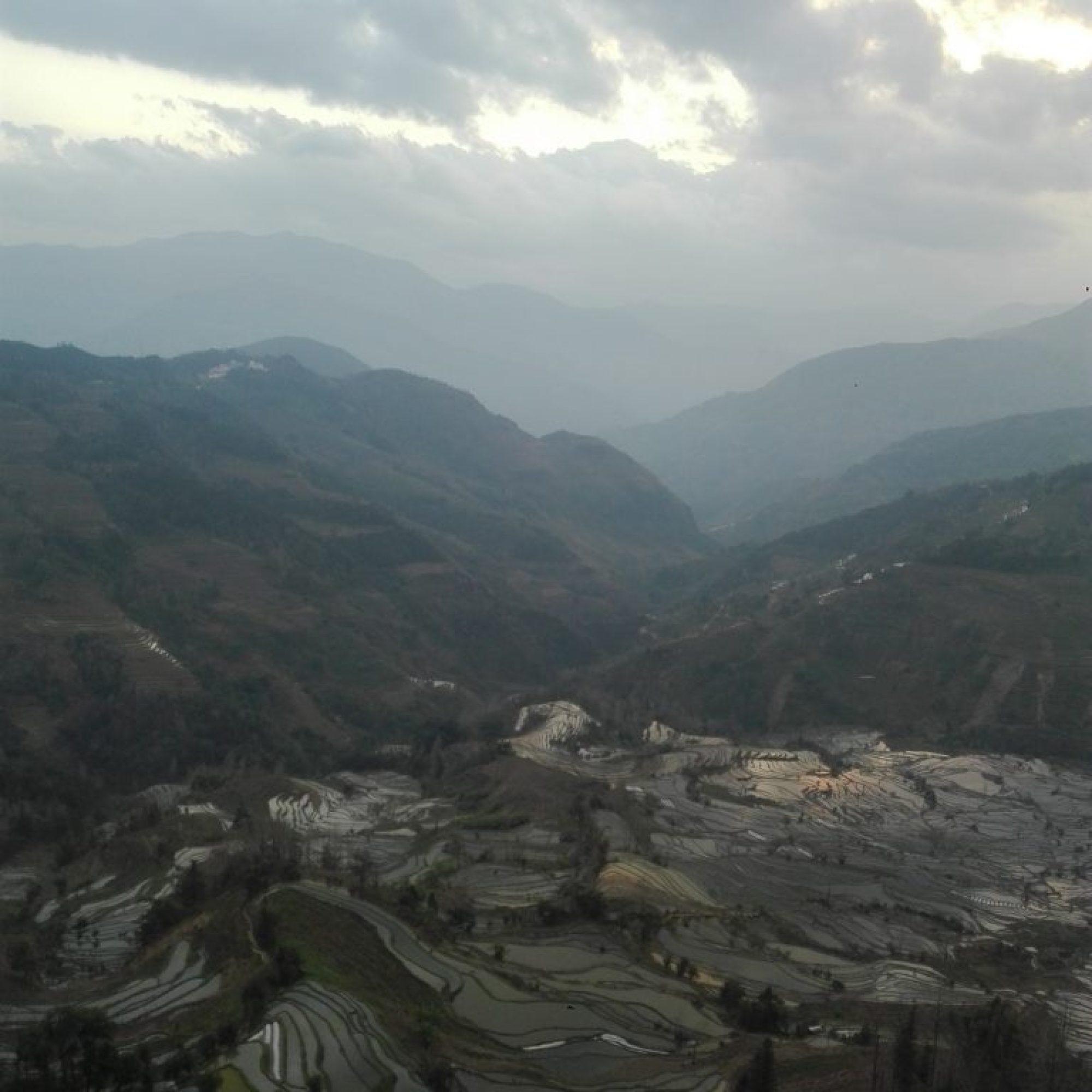 Yunnan - Terrazas de arroz de Laohuzui