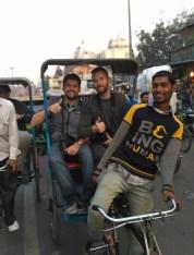 Bazar Chandni Chowk - En el rickshaw
