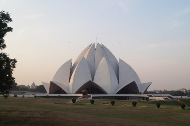 India Delhi Templo del Loto - Los Mejores Lugares que ver en Nueva Delhi