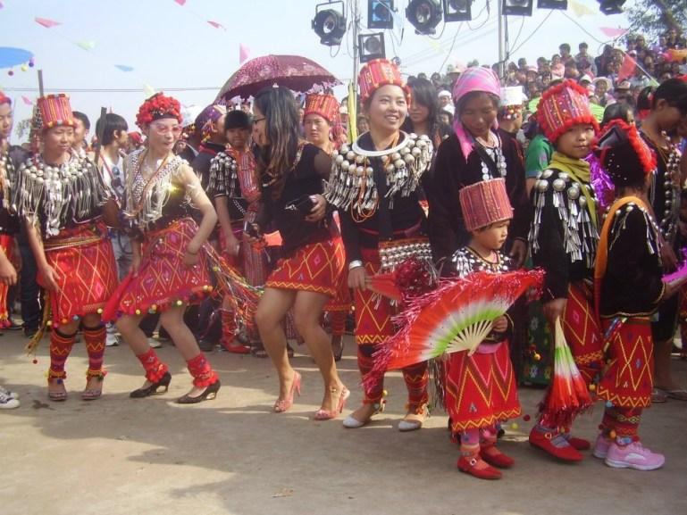 Yunnan - Festival de minorías étnicas