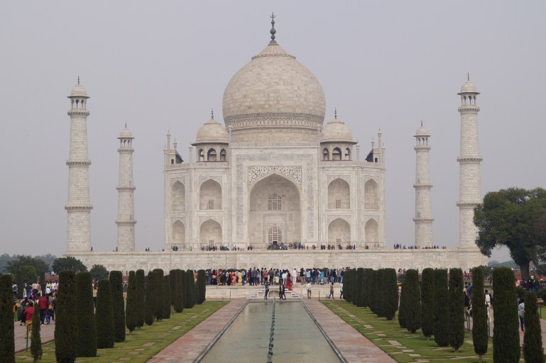 Viaje a la India - Mausoleo Taj Mahal