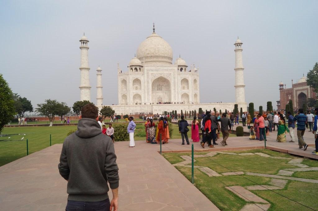 Mausoleo Taj Mahal 05 1024x682 - Consejos mochileros para viajar por la India por libre