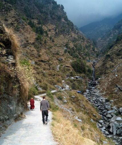 McLeod Ganj Camino a la cascada 2 - ¿Qué hacer y qué ver en McLeod Ganj?