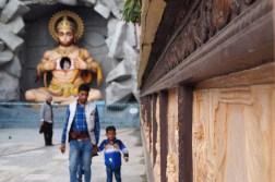 Viaje a Rishikesh - Dios mono