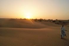 Amanecer en el desierto del Thar
