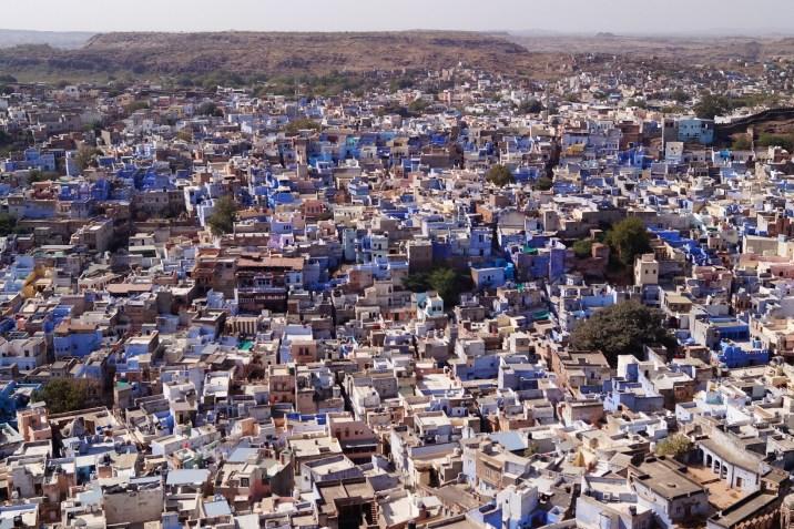 Ruta por el Norte de la India - Jodhpur - Ciudad Azul